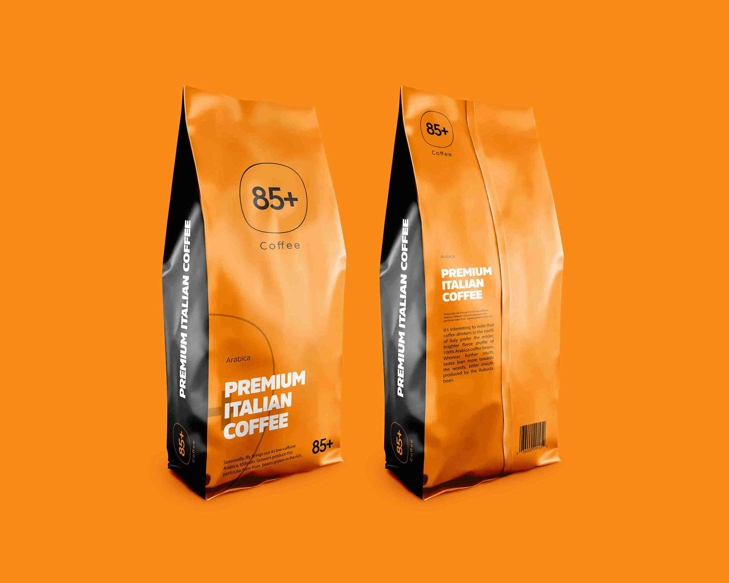 85+ Coffee Package