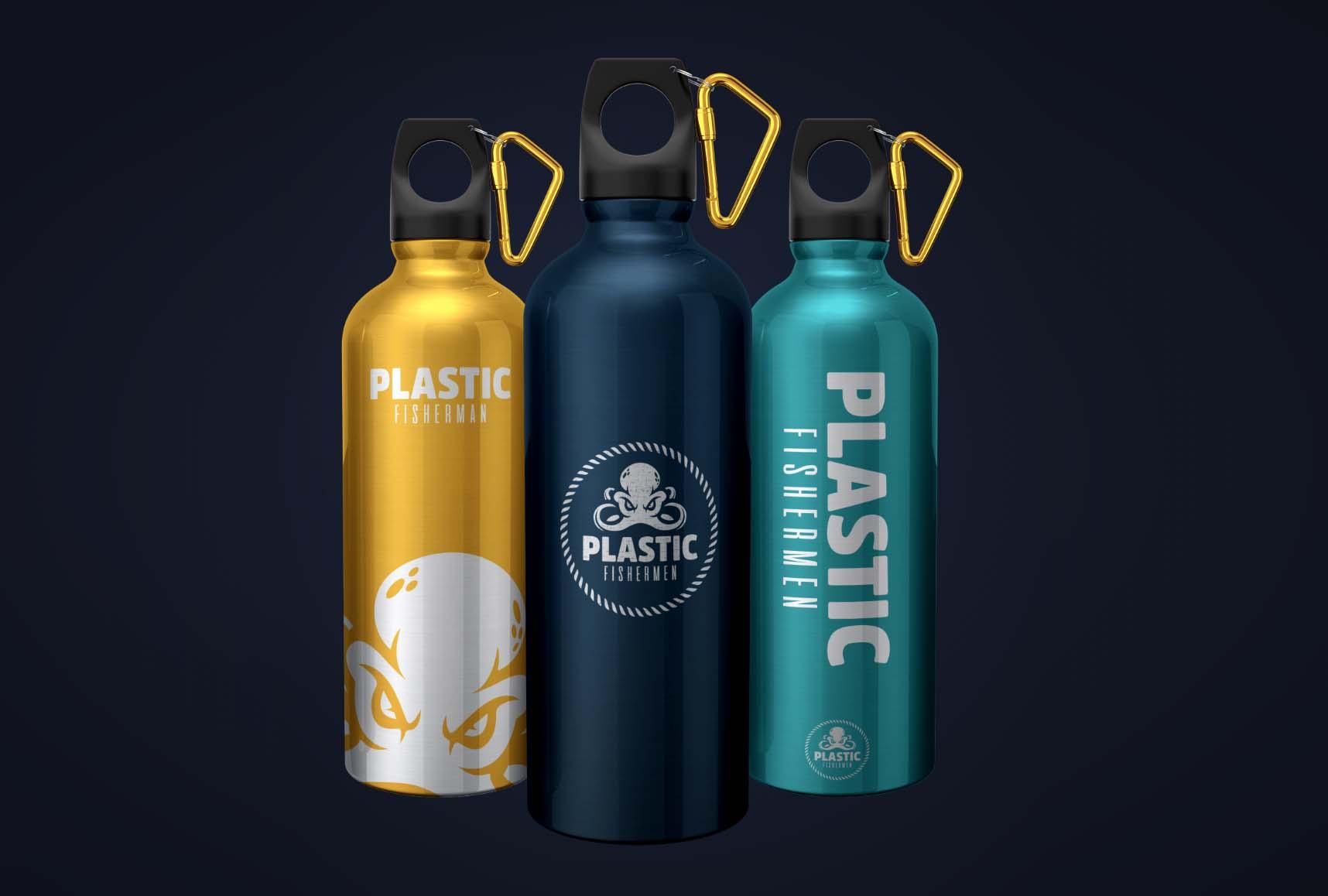 Plastic Fishermen Flask